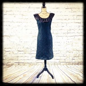 Adorable Vintage Black Lace Party Dress